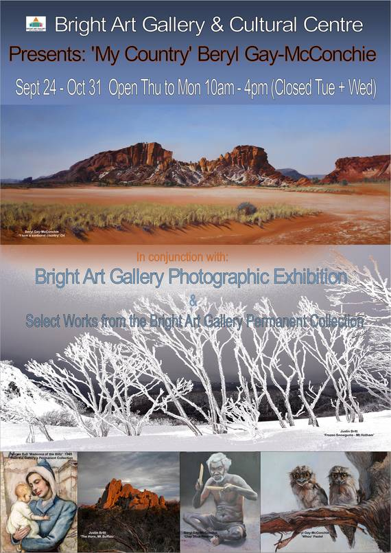 Bright Art Gallery Exhibition