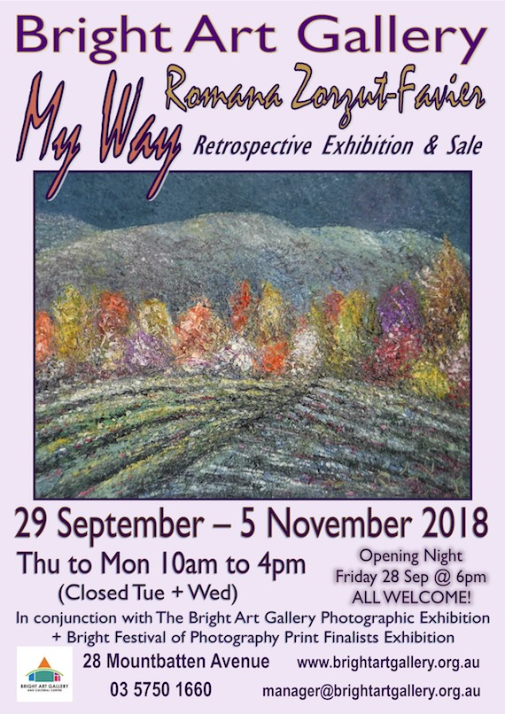 Bright Art Gallery Annual Autumn Art Show