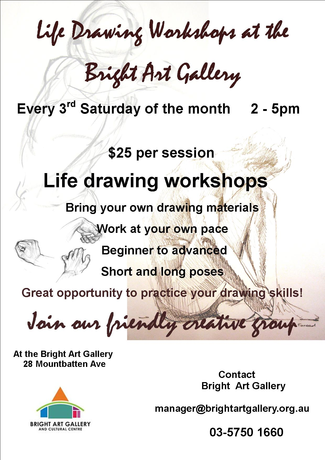 Life Drawing Workshops