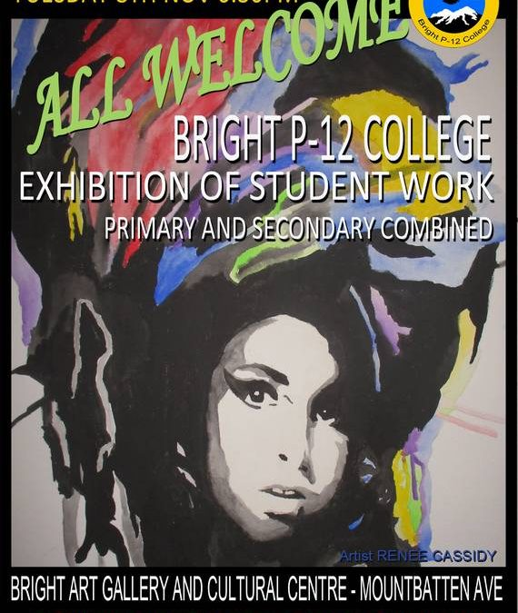 Bright P-12 College Exhibition of student work